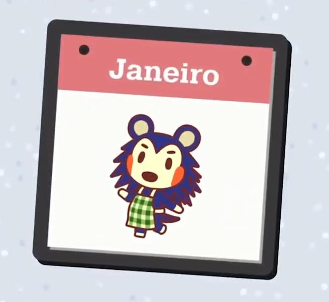 As novidades de Animal Crossing: New Horizons em janeiro